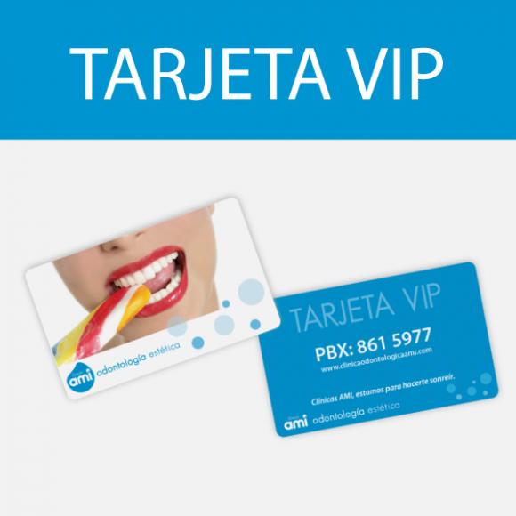 Tu tarjeta ami VIP